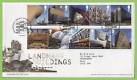 G.B. 2017 Landmark Buildings on Royal Mail First Day Cover, Tallents House