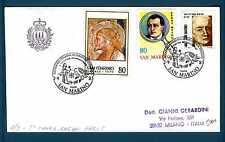 SAN MARINO - 1983 - BUSTA - Annulli speciali. V Congr. Colon-Proctologia. E3721