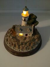 Thomas Kinkade Light in the Storm Lighted Lighthouse