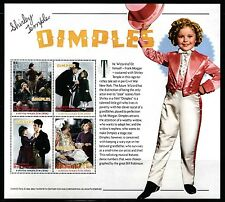 SELLOS TEMA CINE ST. VICENTE Y GRANADINAS SHIRLEY TEMPLE 2002 DIMPLES 4v. Mh.