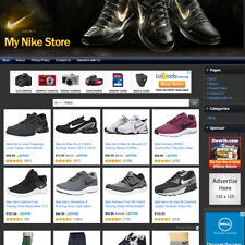 NIKE SHOES & APPAREL STORE - Established Online Affiliate Business Website Sale!