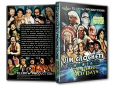 Jim Crockett Promotions The Good Old Days DVD-R, NWA WCW Wrestling WWE WWF