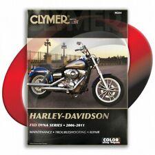 2006-2010 Harley Davidson Fxd Dyna Super Glide Repair Manual Clymer M254