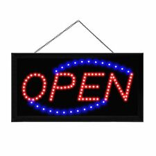 Boshen Animated Motion Led Business Open Sign Bright Light Neon +On/Off Switch