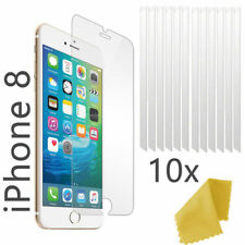 iPhone 8 Screen Protector Plastic Film Layer Screen Guard - Pack of 10