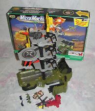 Vintage 1999 Galoob Micro Machines G.I.Joe Military Mobile Assault Base in Box