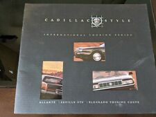 New listing 1990 Cadillac Style International Touring Series Factory Sales Brochure Catalog