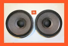 """JBL 2225H MATCHED PAIR High Performance 15"""" JBL Woofers Speakers  Mint Condition"""