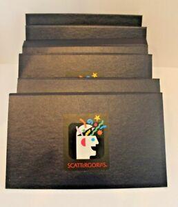 Scattergories Board Game 1988 Pieces 6 Game Folder Boards Card Holder