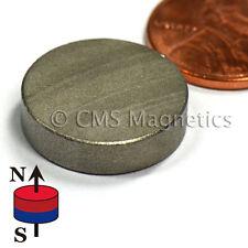 """SmCo Disc Magnet Dia 3/4x1/8"""" Samarium Cobalt Magnets 572F Temperature 4 PC"""