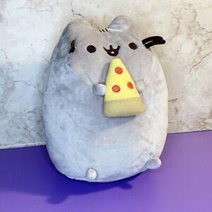 "Gund Pusheen Pizza Snackable Stuffed Toy Plush 9.5"""