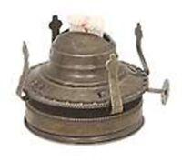One New Kerosene Oil Lamp Fruit Jar  Burner  Antique Brass Plated