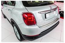 Seuil de Chargement Pour Fiat 500X Acier Inoxydable Rabattement Ab Année Fab.