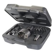 Coffret scie cloche trépan béton et pierre pour percer gros trous 30, 50 110 mm