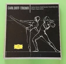 Carl Orff - Trionfi  3 LP Set DGG