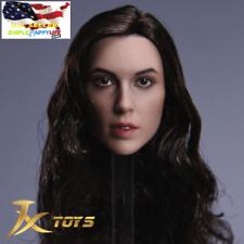 ❶IN STOCK❶ 1/6 Female Head Sculpt C Gal Gadot Wonder Woman in SUNTAN Phicen body
