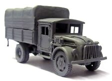 Milicast BG255 1/76 Resin WWII German Steyr 1500A GS Truck w/ Lengthened Chassis