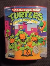 1991 TEENAGE MUTANT NINJA TURTLES Collectors Case w/ 9 Figures FN/FN+ TMNT