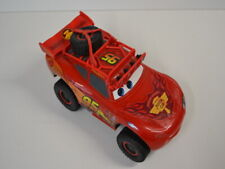 2 ) Disney Pixar 22cm Cars elektrisch Lightning McQueen grosses Auto