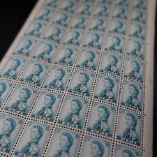 FEUILLE SHEET FIDJI FIJI N°147 x60 REINE ELISABETH II 1956