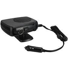 12V 150W Portable Ceramic Car 2in1 Fan Heater Cooler Plugin Defroster Demister