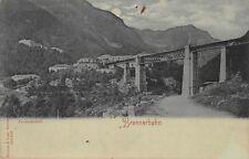 AK Mondscheinkarte Brennerbahn Brücke Postkarte vor 1945