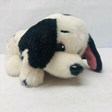 101 Dalmatians Plush Dog Black Paw Stuffed Animal 1998 Mattel Vintage Toy Puppy