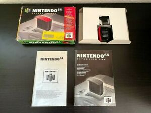 Nintendo 64 N64 - Expansion Pak - CIB - OVP - Anleitung - TOP - Sammler