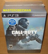 Call of Duty: Ghosts Hardened Edition (Sony PlayStation 3, 2013) PS3 New Sealed
