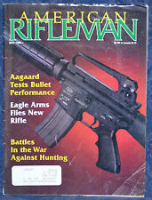 Vintage Magazine American Rifleman, MAY 1990 !!! MAUSER Model 99 RIFLE !!!