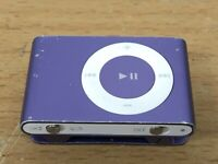 Apple iPod Shuffle Model A1204 2nd Generation Purple