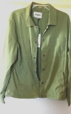 Goodfellow & Co. Windbreaker Olive Green Small NWT