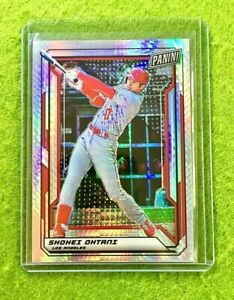 SHOHEI OHTANI PRIZM CARD JERSEY #17 ANGELS SP /99 REFRACTOR 2019 National VIP sp