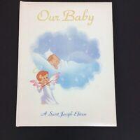 Unused Baby Memory Book Religious 1984 St. Joseph Edition Vintage