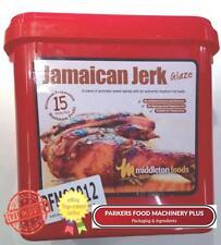 Middleton Foods Jamaican Jerk 2.5kg - Red Tub Glaze - Ideal For Butchers & Hotel