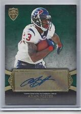 ARIAN FOSTER 2011 TOPPS SUPREME GREEN PARALLEL TEXANS AUTO #D 8/10