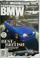 Performance BMW UK Best of British Wild E36 Compact E30 E46 Oct 14 FREE SHIPPING