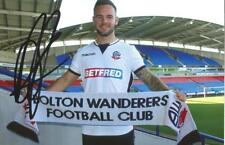 BOLTON: ADAM ARMSTRONG SIGNED 6x4 PORTRAIT PHOTO+COA