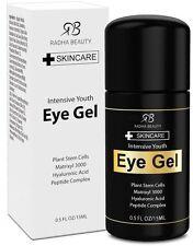Eye Gel Intensive Youth Radha Beauty Skincare 0.5 fl oz Organic Plant Stem
