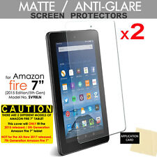 "2x ANTIGLARE MATTE Screen Protector for Amazon Fire 7"" Tablet (2015 / 5th Gen)"