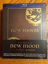 Blu Ray DVD Steelbook Twilight New Moon Brand New Sealed Futureshop Exclusive