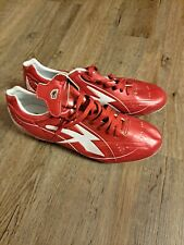 Concord Soccer Cleats Leather Style Mens size 10.5 - red