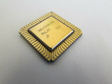 R80186 iNTeL CPU Microprocessor Ceramic Gold Leadless Chip Carrier Vintage-ic