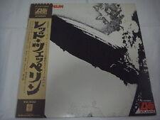 LED ZEPPELIN-same Ⅰ JAPAN Press w/OBI P-10105A Deep Purple AC/DC Black Sabbath