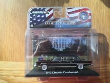 1972 LINCOLN CONTINENTAL GERALD FORD LIMO 1/43 DIECAST GREENLIGHT COLLECTIBLES.