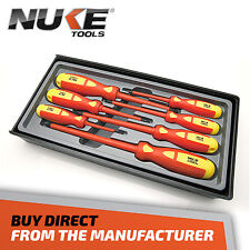 7 PIECE INSULATED SCREWDRIVER SET - LIFETIME TOOL WARRANTY