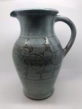 Grande Azul Claro Nicholas Hillyard (Axminster Jarra de cerámica de estudio)