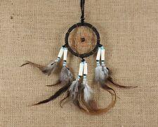 Attrape Rêve noir 26 cm Ø 6 cm - capteur de reve - dreamcatcher