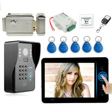 7 inch Wireless Video Doorbell Door Phone Intercom System with Electronic Lock