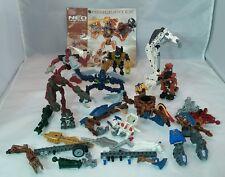 Lego Mega Bloks Parts Bionicles Lot of Completes, Weapons, Masks +